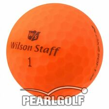 25 WILSON STAFF DX2 SOFT OPTIX GOLFBÄLLE - MATT ORANGE - PEARLSELECTION WIE NEU
