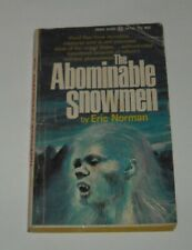 1969 The Abominable Snowmen by Eric Norman Pb Book Award Books 1st Print