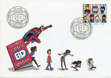 Luxembourg 2018 FDC Comic Book Festival Contern 25 Yrs 1v Cover Comics Stamps