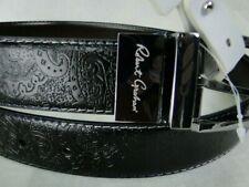 Robert Graham Designer Garrison Reversible Leather Belt MSRP $98 NWT FANCY! - 36