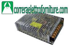 STONE 6000/150/IP20/24V TRASFORMATORE PER STRIP LED 150W 24V