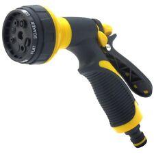 Water Hose Nozzle Spray PC Multi-Pattern Gun Garden Sprayer Car Wash Clearner