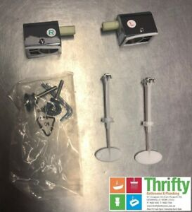 Caroma Opal II and Pearl Soft Close Toilet Seat Hinge Pack 300116