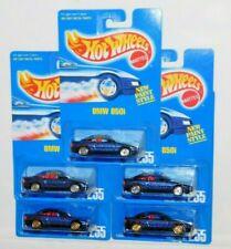 HOT WHEELS BLUE CARD LOT OF 5 BMW 850I #255