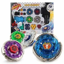 BeyBlade Top Fusion Metal Master Rapidity Fight With 4D String Launcher Grip Set