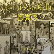 VARIOUS ARTISTS - GREATEST SONGS OF THE 1930'S NEW CD