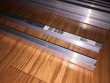 """NEW LOT of 22 Crown Bolt ALUMINUM C-Channel 1/16"""" Thick 3/8"""" Wide X 32"""" Long"""