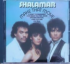 "THE BEST OF SHALAMAR ""MAKE THAT MOVE"" VERY RARE OOP CD ***FREE SHIPPING***"