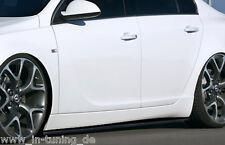 CUP Seitenschweller Schweller Sideskirts ABS für Opel Insignia OPC OPC-Line