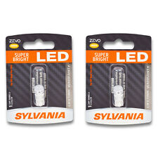 Sylvania ZEVO - Two 1 Packs - 194ALED LED Bulb Side Marker Turn Signal ss