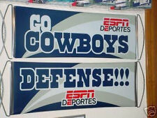 Two Dallas Cowboys Espn FanBana Sign Banner Pennants - New, Never Used! U Get 2!