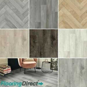 Textile Vinyl Flooring Feltback Heavy Duty Non Slip Lino Kitchen 2 3 4m Floortex