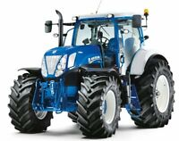 A3 New Holland T7 Tractor Ford Colours Brochure Poster Leaflet