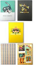 1 x A5 Hardback Notebook Book Lined Journal Planner Ruled Pad School Writing