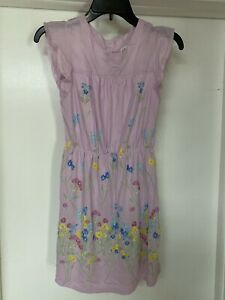 Girls Gap Light Purple Floral Dress New With Tags Size 10