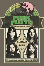 Pink Floyd Animals '77 USA Tour Bumper Sticker or Fridge Magnet