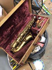 Vintage Couesnon Monopole Medaille D' Oro Paris Alto Saxophone Made in France