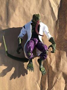 Marvel Legends Series LIZARD Build-A-Figure BAF Complete Spider-Man wave