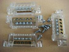 ABB, Lot de 16  Borniers,5 entrées,,Longueur Totale: 71 mm ,Tableau électrique
