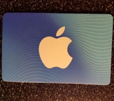 $25 App Store & iTunes Gift Card, Panel Still Covered on Back
