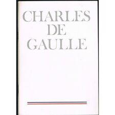 Charles DE GAULLE 1890-1970 par André FROISSARD Jean MAURIAC Henri DUVILLARD...