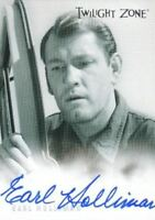 Twilight Zone Premiere Edition Earl Holliman Autograph Card A-13