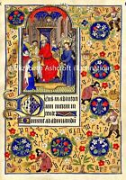 "Illuminated Manuscript Board Mount 12x16""  PRINT size 8 x12"" Museum Grade NEW"