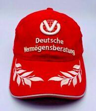 Mütze Michael Schumacher Collection Formel 1 Vintage Kappe Basecap Ferrari Rot