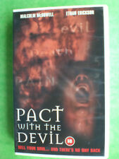 PACT WITH THE DEVIL (MALCOLM McDOWELL)-  ORIGINAL BIG BOX  -    RARE AND DELETED