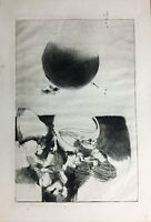 Serigraphy by Liliam Cuenca. Untitled, 1979. Original signed.