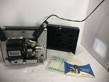 Vintage Bell and Howell Autoload 461A 8mm/Super 8 Movie Projector w/Bulb & Reel