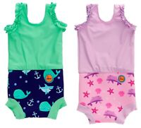 Baby Swimming Nappy Swimsuit Reusable Swim Diaper Girls Costume Boys Swimshorts