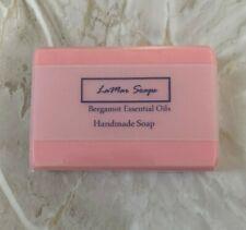 [LaMar] Handmade Natural Glycerin soap bar sulfate free luxury Bergamot gift