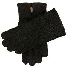 Dents Exton Men's Cashmere Lined Carpincho Leather Gloves
