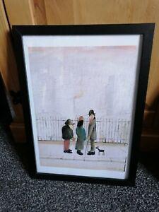 L. S Lowry Framed Print