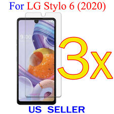 3x Clear LCD Screen Protector Guard Cover Shield Film For LG Stylo 6 (2020)