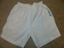 Unique Vtg 80's Panama Jack White Cotton Pockets Shorts Mens SMALL