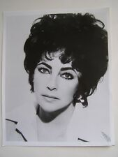 Vintage Glossy Press Photo 1980's Elizabeth Taylor