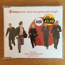 Boyzone When The Going Gets Tough Single Audio CD