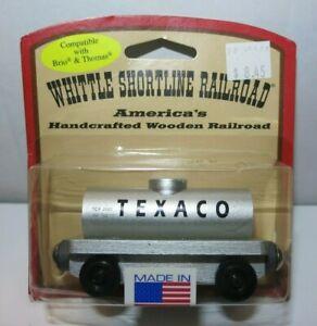 Whittle Shortline Railroad Texaco Tanker Car Model Train - New