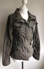 Bench ladies khaki cotton jacket size S Small 🌷