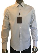 New Authentic Louis Vuitton Men's Clothing Motif V Dress Shirt 15 M #A336