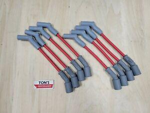 MSD LS V8 Spark Plug Wire Set 45-Deg Corvette Camaro SS GMC Sierra Silverado
