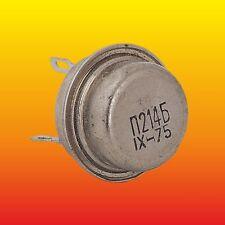 P214B П214Б LOT OF 2 RUSSIAN GERMANIUM PNP TRANSISTOR 11 W 5 A