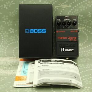 BOSS MT-2w Metal Zone Excellent condition Waza Craft MIJ Guitar effect pedal