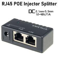 POE Injector Passive for IP Camera VoIP Phone Netwrok AP Device 12V - 48V lot