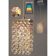 Classic Lighting Bedazzle Crystal Pendant, Chrome - 16101S-8-16mm
