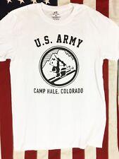 WWII Camp Hale Colorado T Shirt Reproduction Spec Tag Mens sz S - XL