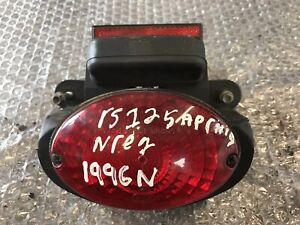 Aprilia RS 125 1996 Complete Rear Light + Number Plate Light