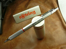 ROTRING  RAPID PRO ALL METAL  SILVER BALLPOINT BLUE INK